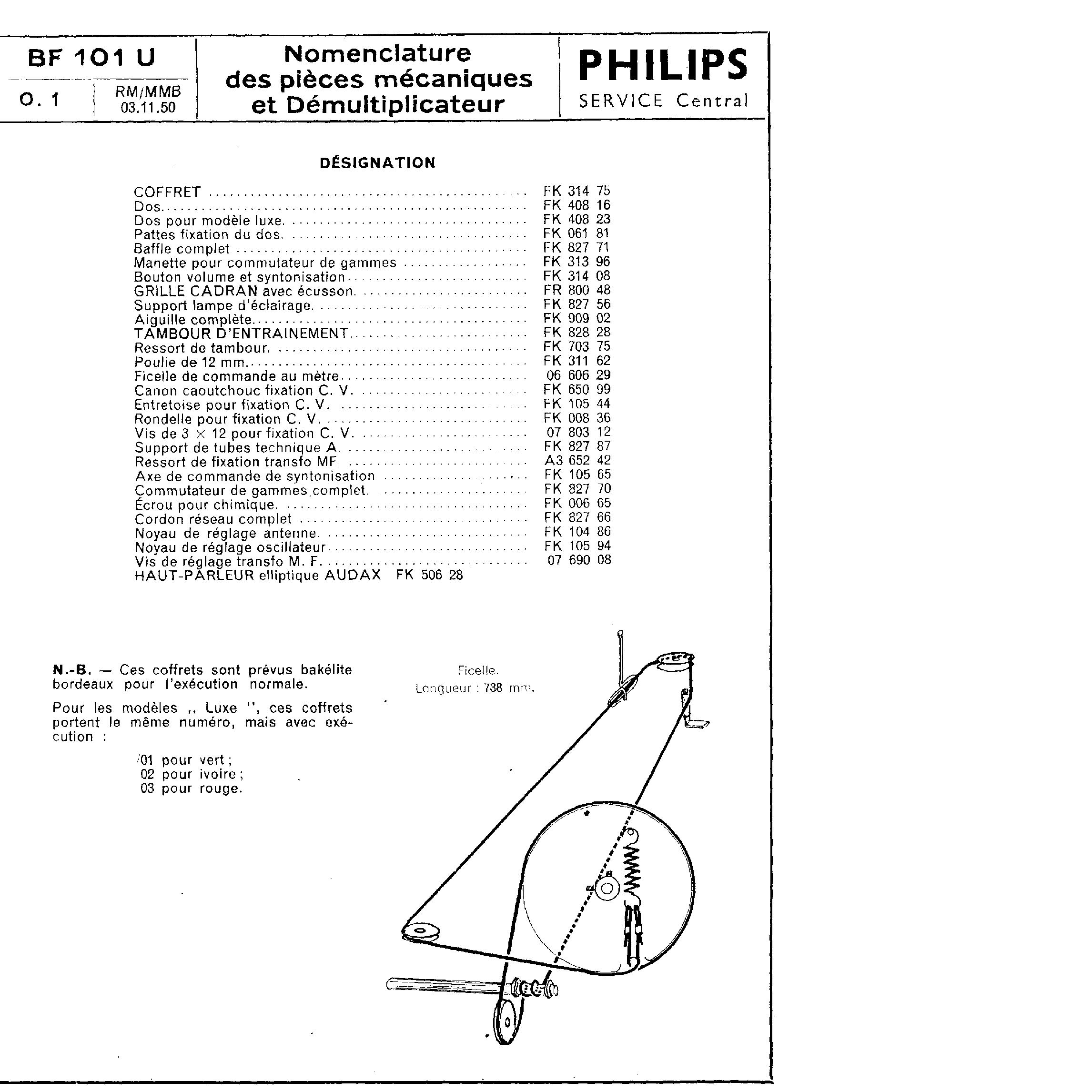 Philips Radio Schematic Diagram Circuit And Schematics Am Receiver Using Tda 1072at Ic Diagrams Dial String Antique French Radios Classic Gallery Vintage
